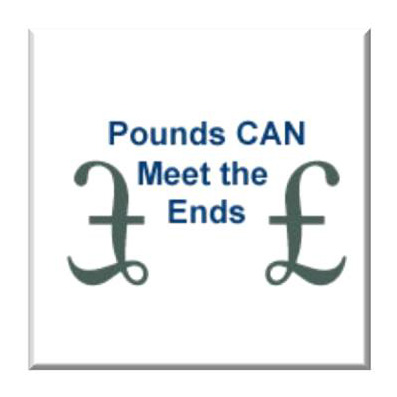 Pounds CAN meet the Ends tile