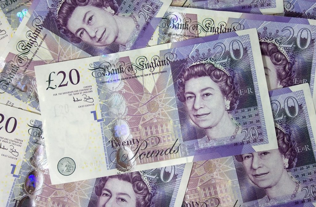 Money Eyeopener is British as yu can see from these bank notes